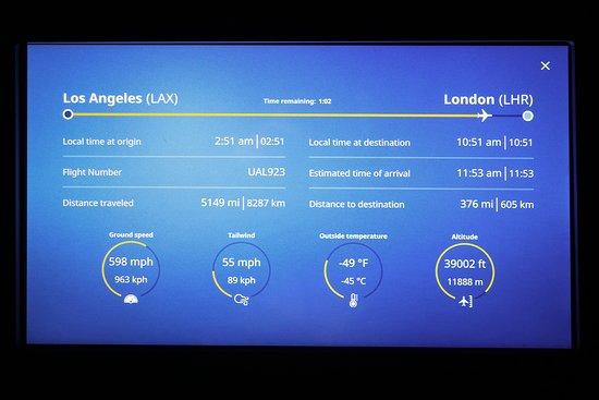 United Airlines: UA923 Los Angeles to London 787-9 (#3964) Polaris Seat 3E  - Seat Area