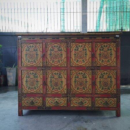 NEW Tibet-Art Cabinet