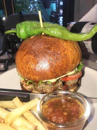 Yummy Yak burger with salted chilly on the top 🥘 ...... 💕 # travel  #bhutan  #bhutantours  #bhutanvisa   #yelhabhutan  # bhutantravel