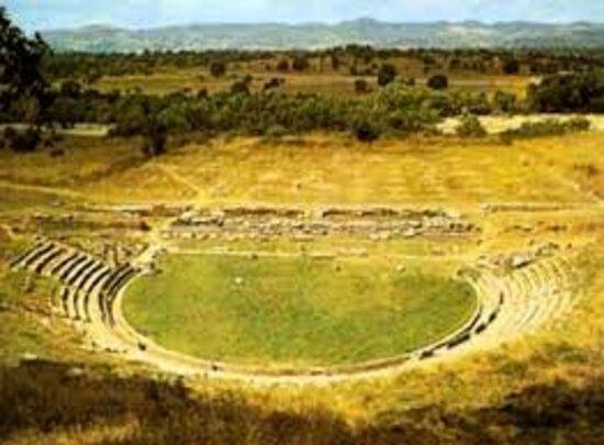 Αρχαίο θέατρο Μεγαλόπολης
