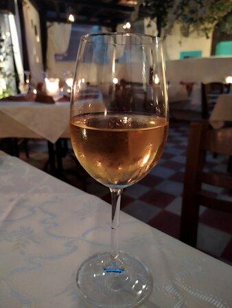 Délicieux vin blanc
