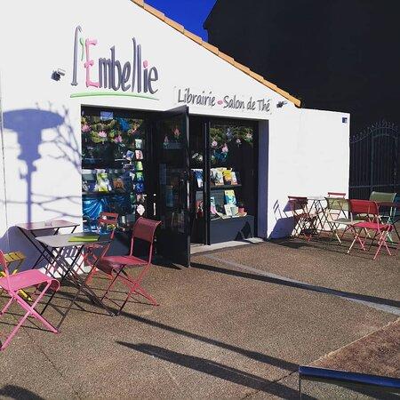 L'Embellie, librairie-salon de thé