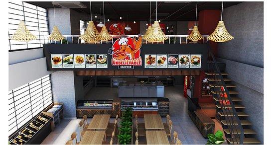"""Ho Chi Minh City, Vietnam: UNBELIEVABLE SEAFOOD chuyên phục vụ các món hải sản tươi sống, sushi, sashimi và các thức uống thơm ngon với giá cả hợp lý đến mức """"KHÔNG THỂ TIN NỔI"""""""