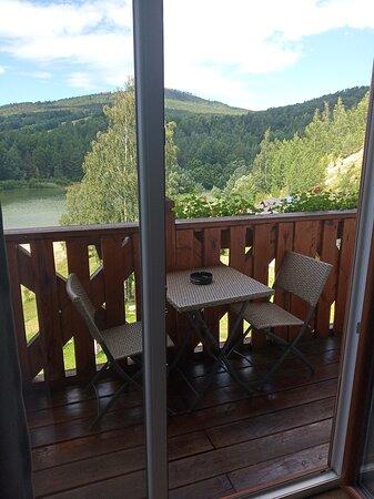 Pisecna, République tchèque : Balkon s krasnym vyhledem