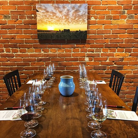 When possible, we pre-pour wines in order to minimize contact. Our tastings guides sit on a stool nearby to share information and stories about the wines, answer questions and listen.