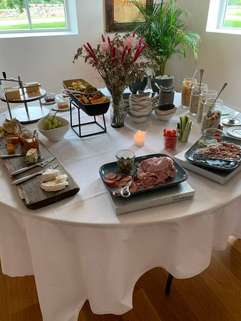 Ruds Vedby, Danmark: Morgenmadsbuffet