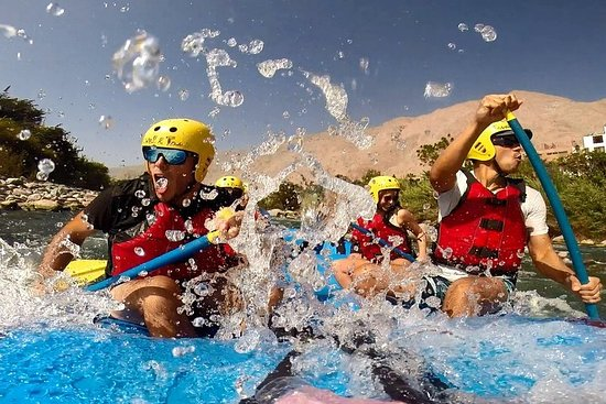 Rafting experience in Lunahuana Valley...