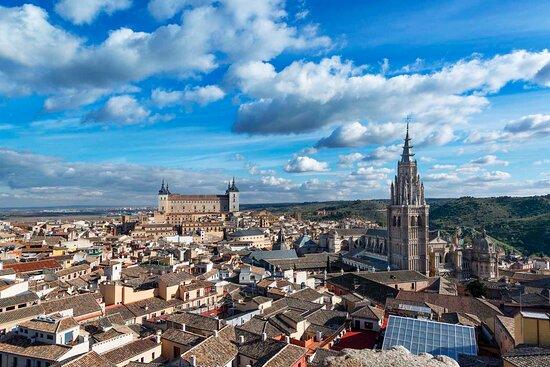 טולדו, ספרד: Toledo. Vista desde la iglesia de los Jesuitas.