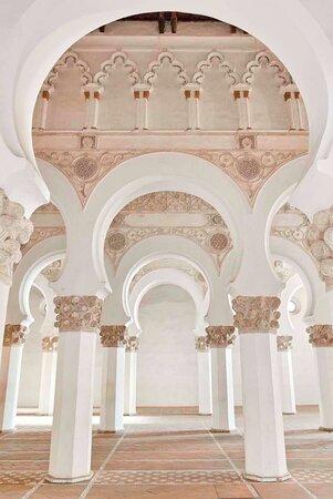 טולדו, ספרד: Sinagoga Santa María la Blanca. Toledo Ruta Judería toledana