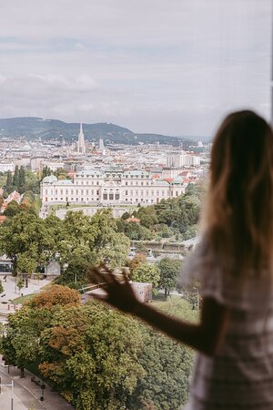 View to Belvedere Palace