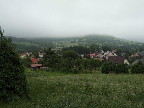 Baligrod, Poland: widok na Baligród