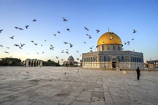 Monte del Templo de Jerusalén y Cúpula...