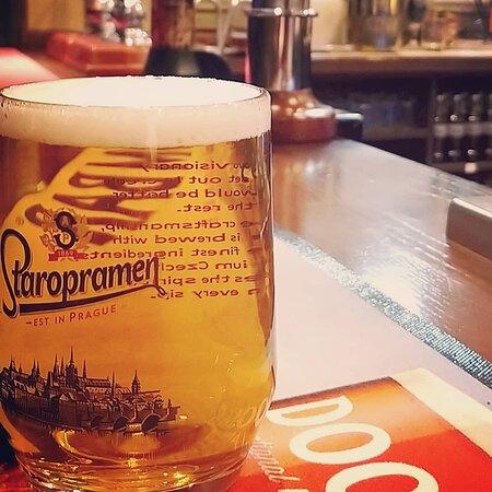 Staropramen is one of our staple premium lagers