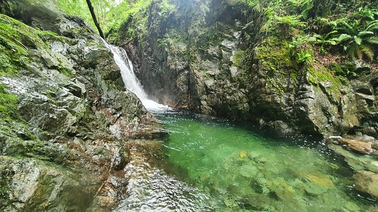 Crystal clear waters, Gorge walking in Church Beck