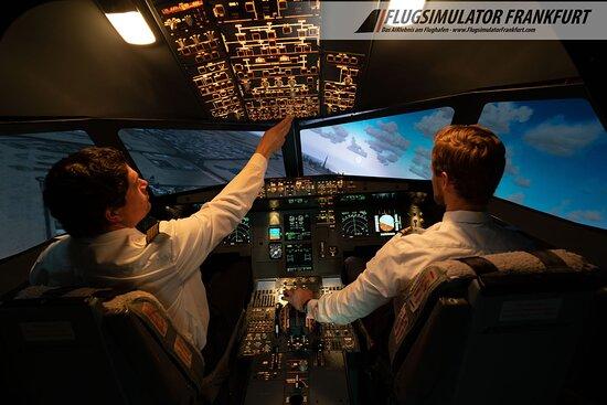 Flightsimulator Frankfurt AIRlebnis-Flug
