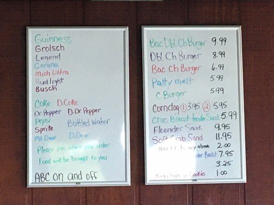 Owen's Is open for the season, limited menu