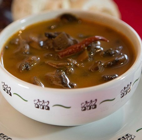 Calientita, picosita, deliciosa... así es nuestra Sopa de Hongos