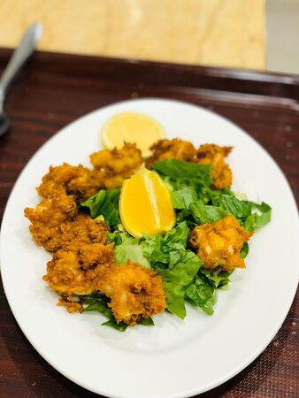 Arar, Saudi Arabia: استمتعو بمنتجات سمك لدى مطعم ماسة ريتاج