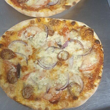 Jyväskylä, Finlandia: Pizza