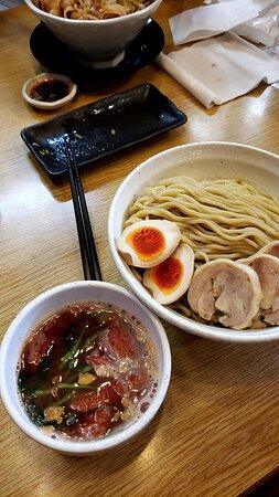 限定メニュー(?)トマトつけ麺