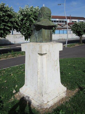 Détail de la sculpture