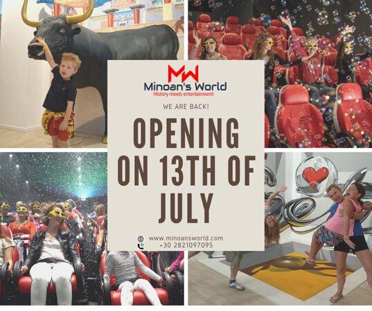 MINOAN'S WORLD 3D Museum & 9D Cinema