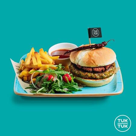 Too much good vegan burger