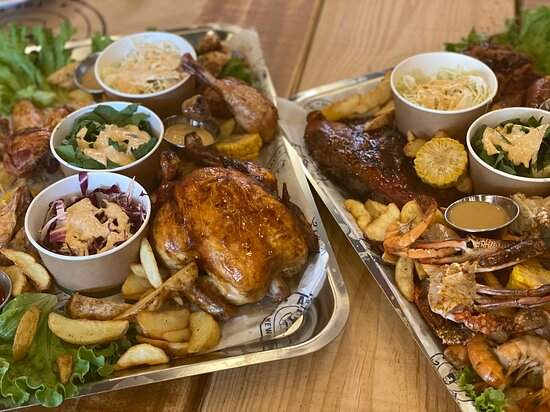BBQ - Roaster & Surf and Turf