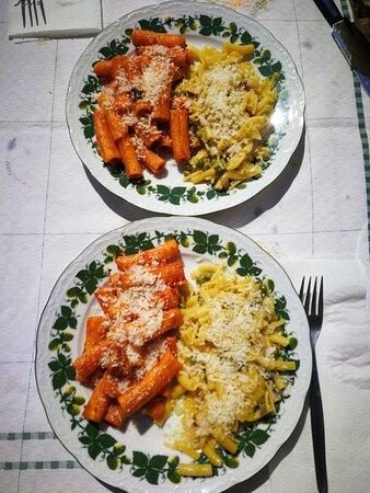 Metà e metà.....i piatti del nostro chef...