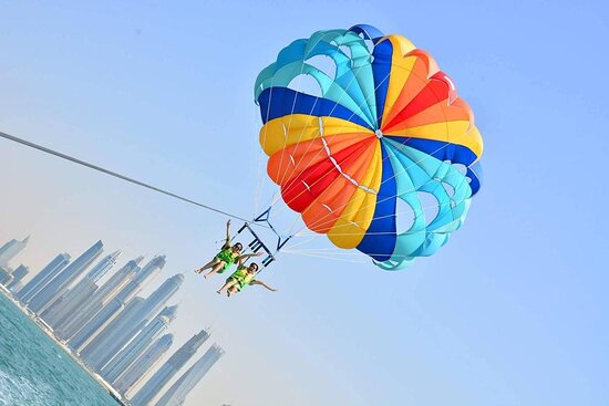 We had a great moment with Beach riders, We have taken from them Parasailing, Me and Friends enjoyed very well. They are the best Parasailing in Dubai