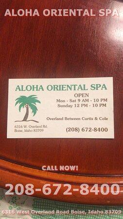 Aloha Oriental Spa