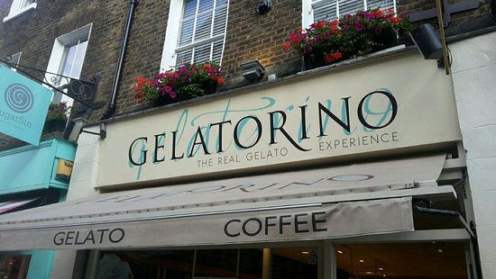 Gelatorino in Covent Garden.