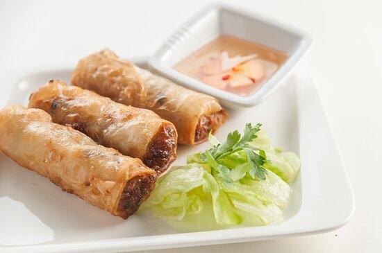 """Вьетнамские блинчики """"Нам Ран"""" с мясом"""