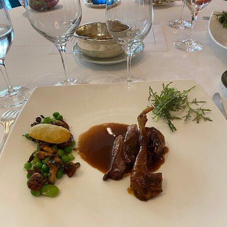 Cadre magnifique et excellent menu xecouverte