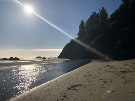 Westhaven-Moonstone, Kalifornia: Late afternoon at Moonstore beach near Trinidad, Ca.