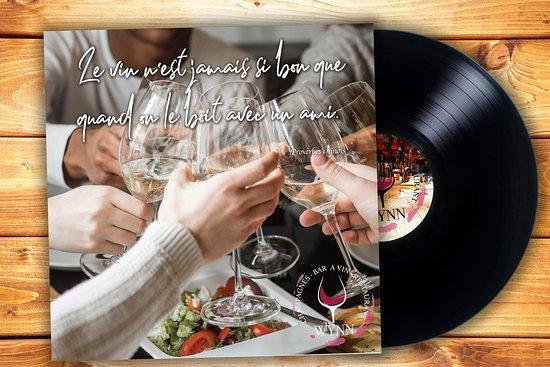 """""""le vin n'est jamais si bon que quand on le boit avec un ami."""" Proverbes chinois Ouvert tous les jours de 17h à 00h. Info & Résa : 0661472501"""