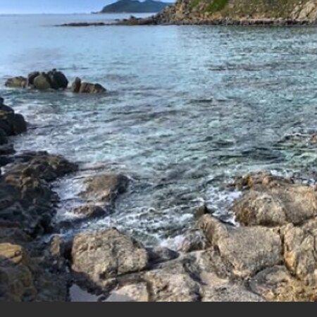 Sardegna Costa rei scoglio di Peppino