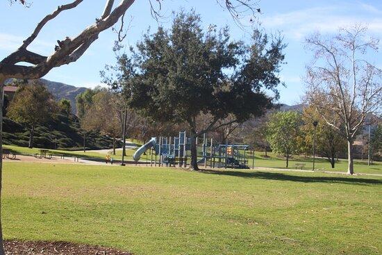 Walker, Kalifornia: The playground