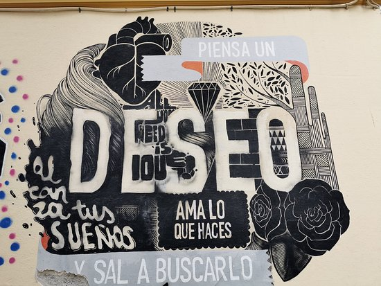Malaga, İspanya: El Soho en Málaga