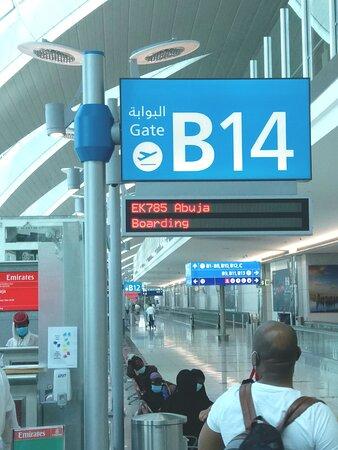 Emirates: Special Flight EK 0785 to Abuja.