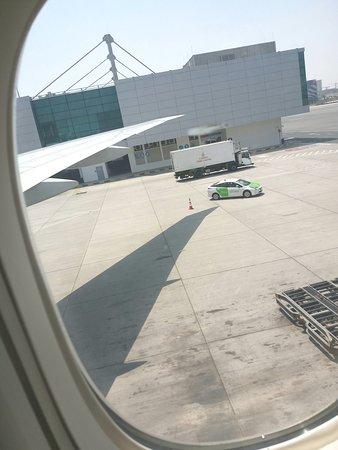 Emirates: View of Dubai Airport.