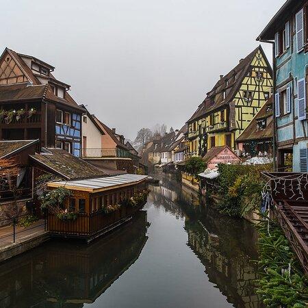 Franciaország: Little Venice: Colmar in autumn