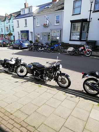 North Tawton, UK: On route