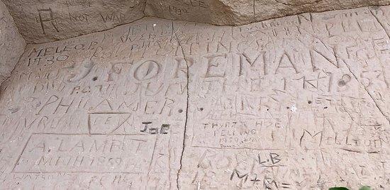 Hidden historical signatures
