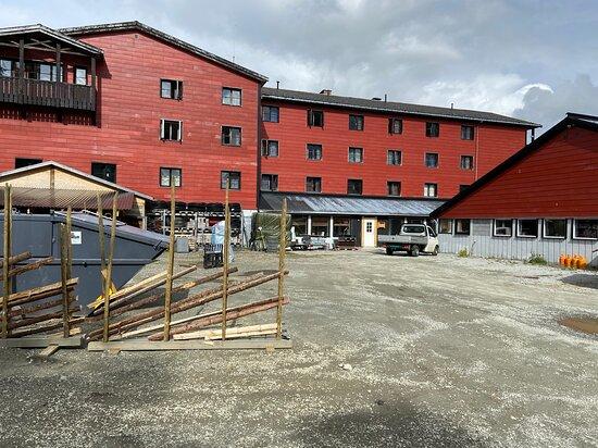 Mysuseter, Norveç: Hotellet utvendig