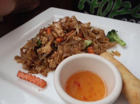 The Thai food at Bangkok Bay is delicious.
