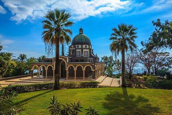 Kristne steder ved Galileasjøen fra Tel Aviv