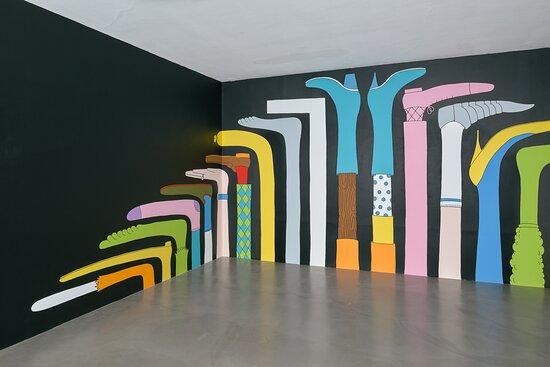 Vue de l'exposition Mrzyk & Moriceau : Never Dream of Dying présentée du 11 juillet au 27 septembre 2020 dans le cadre d'Un Été au Havre