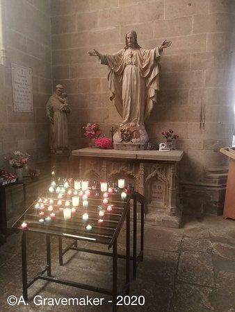 Kaarsje branden @ Eglise Saint-Malo de Dinan by A.Gravemaker 2020