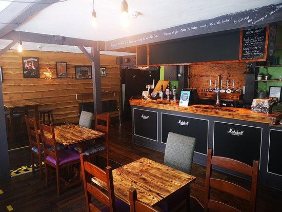 The bar area (c) 2020